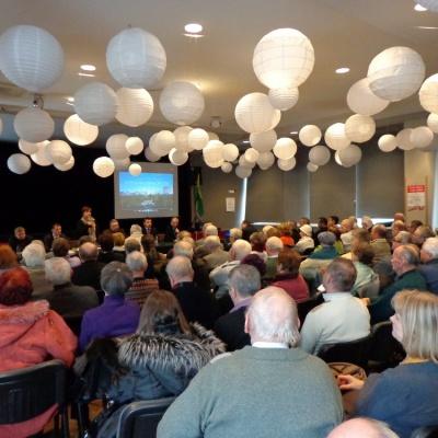 28 stycznia 2013, Spotkanie z działkowcami
