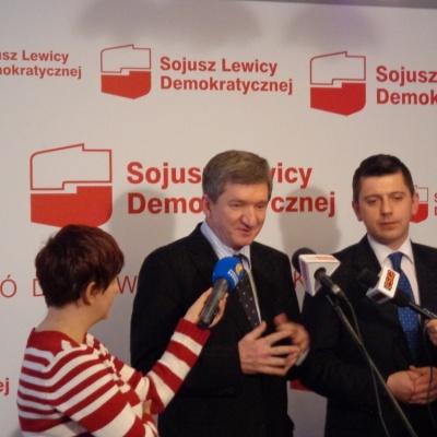 30 stycznia 2013. Konferencja prasowa